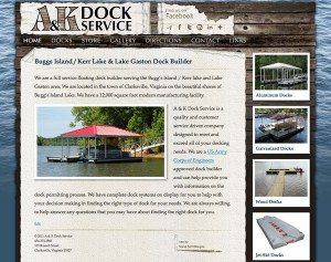 A&K-Docks-Website