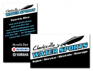 Clarksville-Water-Sports-Business-Card